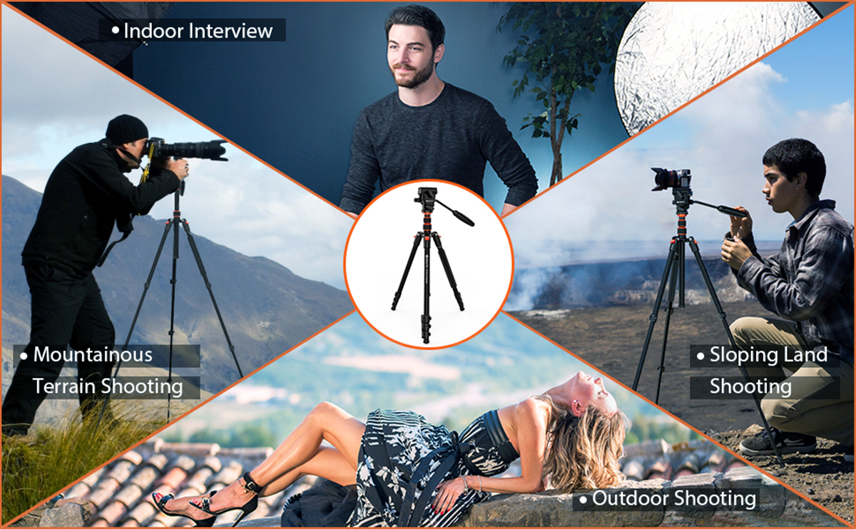 Tripod for DSLR Cameras Video Camcorders