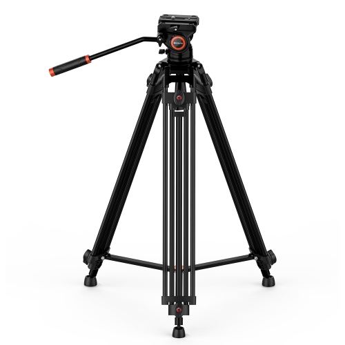 Geekoto DV2 72 inch Heavy-Duty Video Tripod for Video Camcorder and DSLR Camera