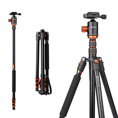 Geekoto AT24EVO 77 inch Aluminum Camera Tripod & Monopod for Camera DSLR Photography