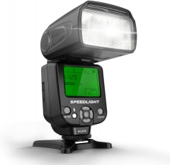 Geekoto GT53 Camera Flash Speedlite for Canon Nikon Sony Panasonic Olympus Pentax DSLR, Digital Camera